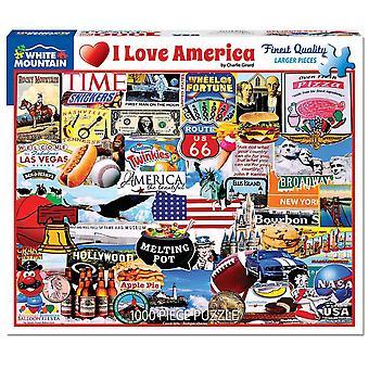 Ich liebe Amerika 1000 Stück Jigsaw Puzzle 760 X 610 Mm
