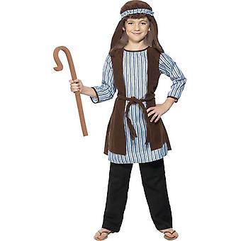 Hirte Kostüm, Kind, jungen kleinen Alter 4-6