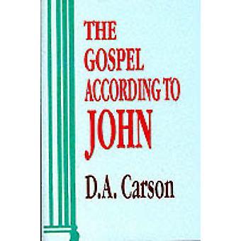 Evangelium nach Johannes von D. A. Carson - 9780851117492 Buch