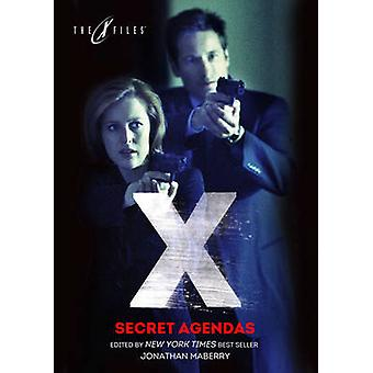 X-Files - geheime agenda's door Jim Beard - Joe Harris - Yvonne Navarro-