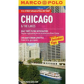 Chicago & the Lakes Marco Polo Guide by Marco Polo - 9783829707480 Bo