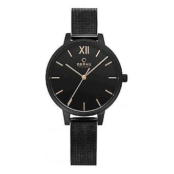OBAKU - wrist watch - UNISEX - V209LXBBMB - LIV CHARCOAL
