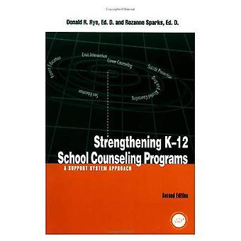 Styrke K-12 skolen rådgivning programmer: Et støtteapparat tilnærming