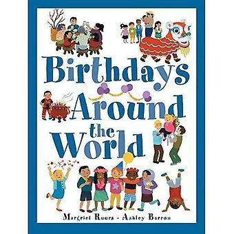 Verjaardagen over de hele wereld