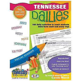 Tennessee Dailies: 180 Daily Activities for Kids