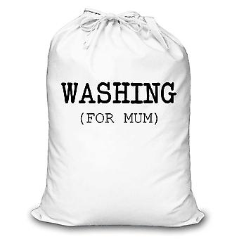 White Laundry Bag Washing For Mum