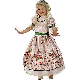 ビンテージ プリンセス子供用コスプレ衣装