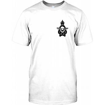 Canadiske RAF - Per Ardva Ad Astra - bryst Logo Herre T-shirt