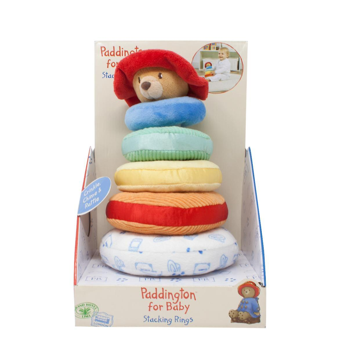 "Rainbow Designs PA1410 /""Paddington for Baby/"" Stacking Ring"