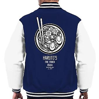 The Ramen Clothing Company Harutos Fine Ramen Bowl Men's Varsity Jacket