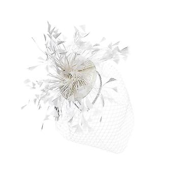 Intrigue Womens/Ladies Feather Fascinator