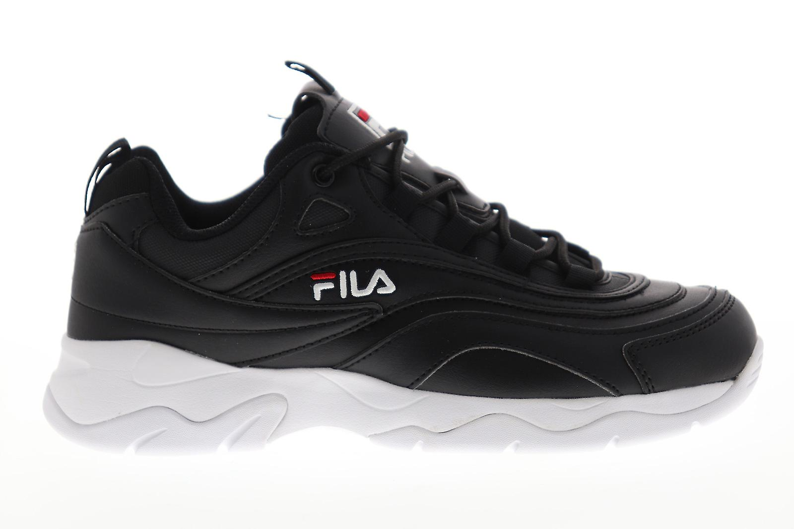 Fila Ray Womens Black Casual Lace Up Low Top Trampki Buty