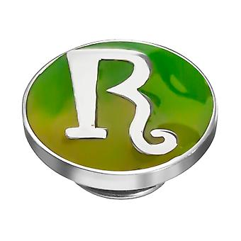 KAMELEON kirjain R Sterling Silver Colour JewelPop KJP18