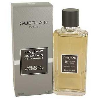 L'Instant by Guerlain Eau de toilette spray 3,4 oz (mænd) V728-536473