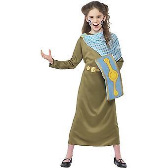 Horrible Histories, Boudica Costume, Medium Age 7-9