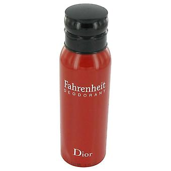 Spray deodorante Fahrenheit di Christian dior 446636 150 ml