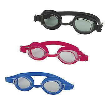 SwimTech Aqua Adult Senior Mens Womens Swimming Pool Water Goggles