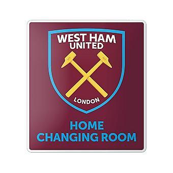 West Ham United FC officielle hjem ændre værelse tegn