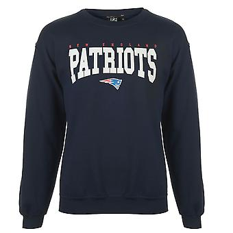 NFL Mens Logo Crew Sweatshirt Top Jumper Blouse Long Sleeve