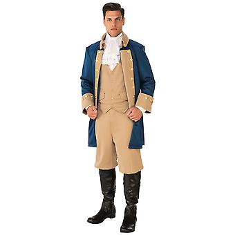 Patriotic Colonial Victorian George Washington President French Mens Costume