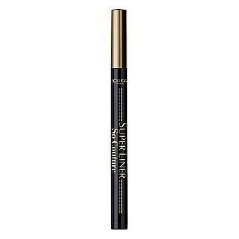3 x L'Oreal Paris Superliner So Couture 01 Black Eyeliner New
