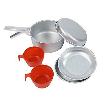 Regatta 2 person aluminium Cook set