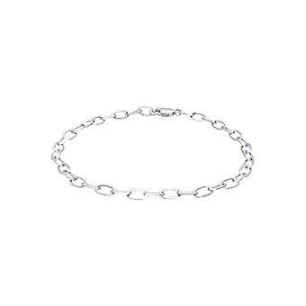 Elli dame sølv armbånd 925-19 cm