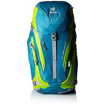 Deuter ACT Trail PRO 34 - Sacs à dos Unisex pour adultes - Vert (Petrol/Kiwi) - 24x36x45 cm (W x H L)