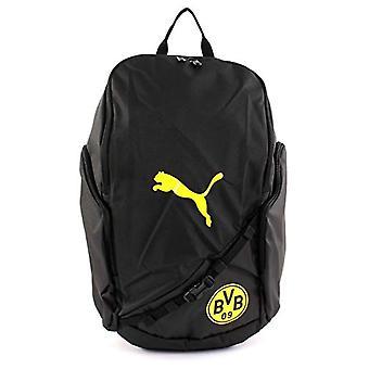 PUMA BVB Liga Backpack - Unisex Adult Shoulder Bag - Black-Cyber Yellow - UA