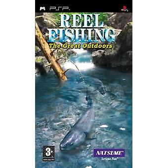 Reel Fishing The Great Outdoors (PSP) - New