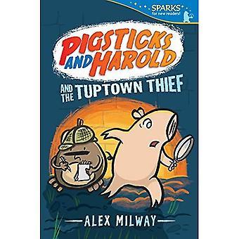 Pigsticks et Harold et le voleur de Tuptown (Candlewick Sparks)