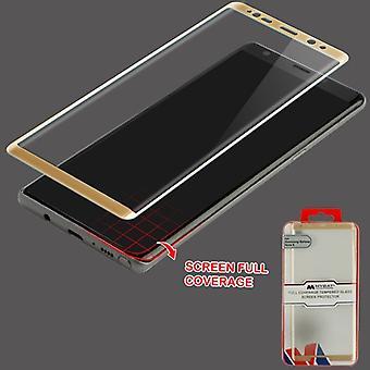 MYBAT täysi kattavuus karkaistu lasi näytön suoja/kulta Galaxy Note 8