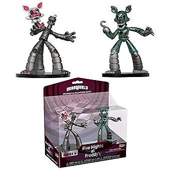 Five Nights Sister Locatn Hero World 6 Mangle & Phantom Foxy