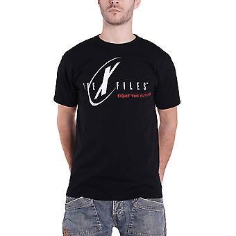 X Files T Shirt Classic TV Show Logo new Official Mens Black