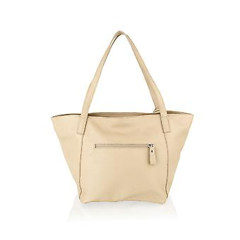 "Tote Shopping Bag 20.0"" Central Zip Carry Handle"