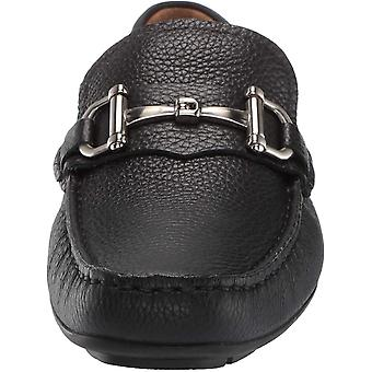 Driver Club USA Mens Genuine Leather Made in Brazil Park Ave Buckle Loafer, B...