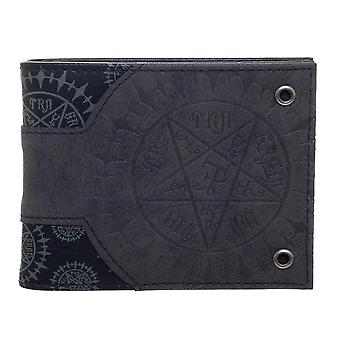 Wallet - Black Butler - Black Bi-fold New mw3d66bla