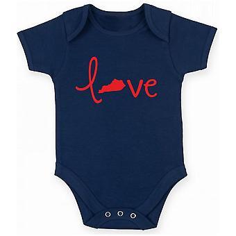 Body neonato blu navy gen0278 love