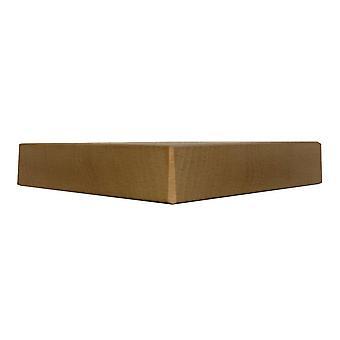 Biały drewniany trójkąt meble nogi 3 cm