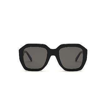 Celine CL40045I 01A Shiny Black/Smoke Sunglasses