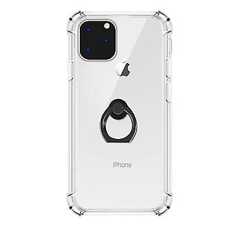 Transparent Ring Holder Case for iPhone 11 Pro