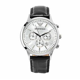Armani Men-apos;s Silver Dial Watch - AR2432