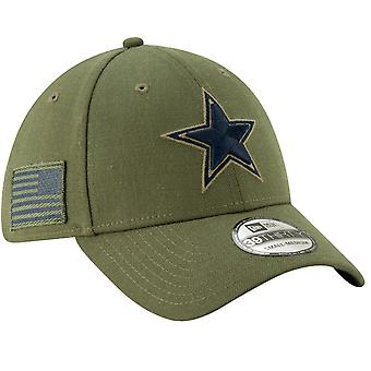 New Era 39Thirty Cap - Salute to Service Dallas Cowboys
