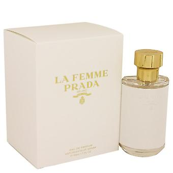 Prada la femme eau de parfum spray by prada 538991 50 ml