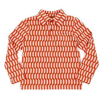 Lily Balou jongens polo shirt Blocks Red