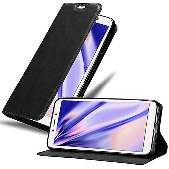 Futerał Cadorabo do obudowy Xiaomi RedMi 6A - Etui na telefon z magnetycznym zapięciem, funkcją stojaka i komorą na kartę - Obudowa ochronna Case Book Folding Style