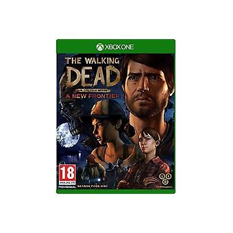 Ходьба мертвых новой границе Xbox один