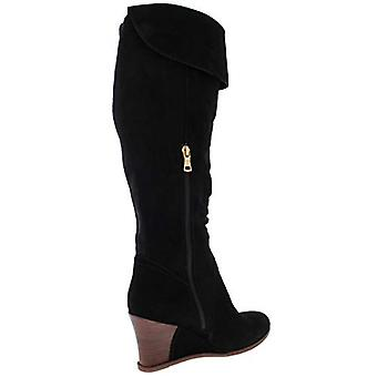 Lucca Lane Womens Zander Suede Almond Toe Mid-Calf Fashion Boots