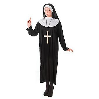 Bristol Novelty Womens/Ladies Plus Size Nun Costume