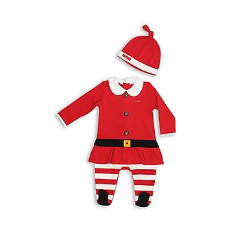 The Essential One Baby Girl Mrs Santa Suit